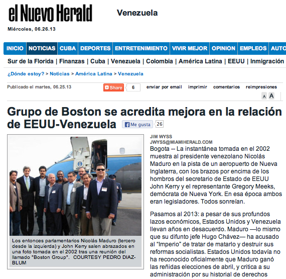 Miami Herald Grupo Boston 26:06:13 Español